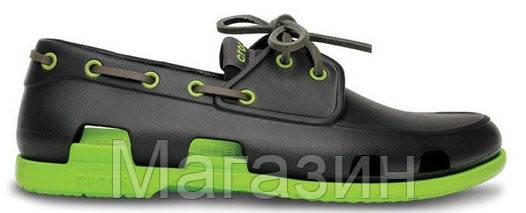 купить обувь Crocs Beach Line Boat Shoe