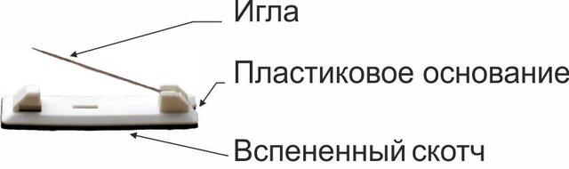 Евробулавка для бейджей и значков