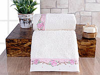 Набор полотенец Irya Lavinya розовое