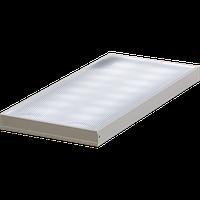 Светодиодный светильник офисный с призматическим рассеивателем, 28W 220V IP40 (LG, OSRAM, SS)