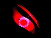 Силіконова світлодіодне підсвічування для колеса велосипеда  Червоний