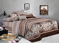 Комплект постельного белья семейный, ранфорс 100% хлопок. Постільна білизна сімейна. (арт.6929)