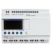 SR2B202BD Zelio Logic реле компакт 20Вх/вых =24В