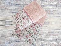 Набор полотенец Irya Rosalinda розовое