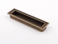 Ручка мебельная Giusti РГ 131/128 WMN552.128.00D1 Врезная Старое золото (17616)