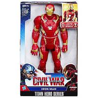 Железный человек говорящий (Marvel Titan Hero Series Electronic Iron Man),30см, Hasbro