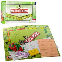 Настольная игра 2030R  Монополия,игров.поле 42-42см,фишки,карточки,в кор-ке, 43,5-22-3см