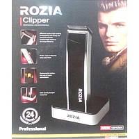 Аккумуляторная машинка для стрижки волос Rozia Clipper HQ205, Триммер для волос с насадками, Электротриммер