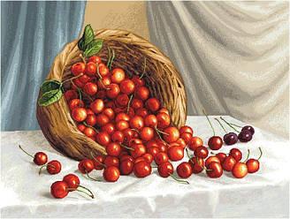 """Гобеленова Картина """"Кошик з вишнею"""""""