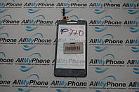 Сенсорный экран для мобильного телефона Lenovo P770 черный