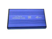 SATA Карман USB для жорсткого диска 2.5  Синій