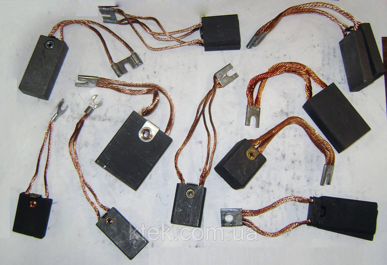 Щетки ЭГ14 16х32х64 к1-3 электрографитовые