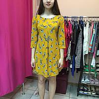 Платье женское летнее легкое короткое цветное Rinascimento