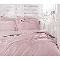 Постельное белье Deco Bianca сатин жаккард jk16-05 pudra розовое евро