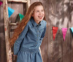Джинсове сукню дитяче Tchibo Німеччина 146/152