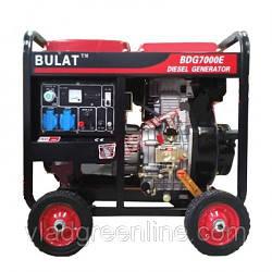 Генератор Булат BDG7000E (дизель 7 кВт, 1ф, съёмный цилиндр, электростартер)