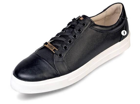 НОВИНКА! Молодежные  мужские туфли из натуральной кожи МИДА 11592., фото 2