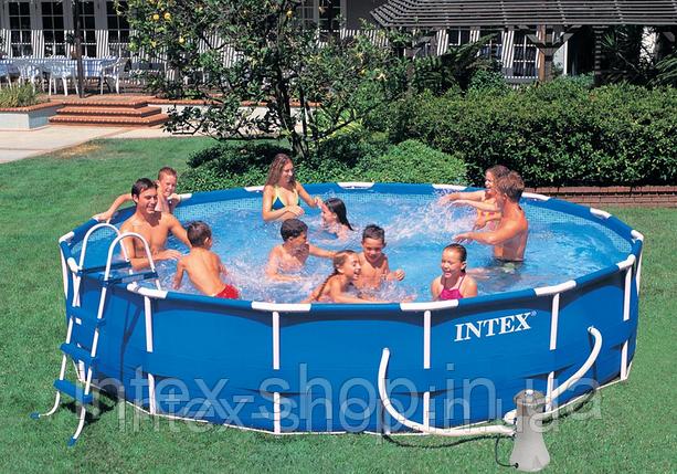 Каркасный бассейн Intex 28234 (54940), 457 см х 107 см., фото 2