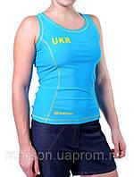 Спортивная женская майка Ukrainian Team