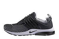 Мужские беговые кроссовки Nike Air Presto TP QS Flyknit Black M, фото 1