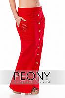 Юбка Брэнда (52 размер, красный) ТМ «PEONY»