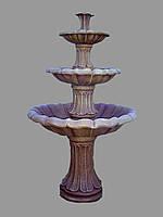Фонтан выс. 190 см. садовый парковый 3-ярусный new