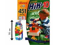 Детский конструктор из крупных деталей НИК-10 Юника