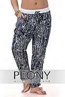 Женские брюки Рипли (54 размер, тёмно-синий) ТМ «PEONY»
