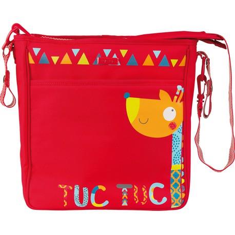 Сумка на коляску красная Tuc Tuc BAOBAB BUGGY