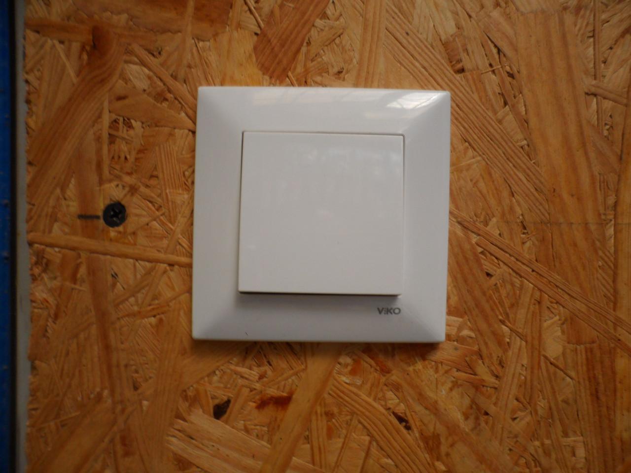 Выключатель проходной без подсветки VIKO meridian