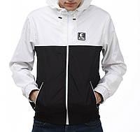 Черно-белая ветровка куртка Ястребь (опт и розница)