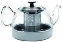 Ibili Чайник заварочный с фильтром для индукции Kristall 1,2л 621912