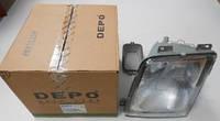 DEPO 441-1143L-LD-EM Фара VW LT 96-06 (H1/H1) L