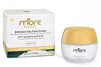 Дневной крем для интенсивного увлажнения для нормальной и сухой кожи. MORE BEAUTY