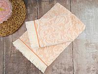 Набор полотенец Irya Royal персиковое