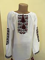 Стильна вишита блуза для дівчинки машинна вишивка, фото 1