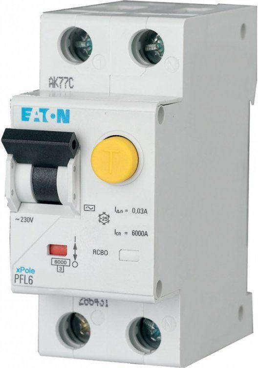 Дифавтомат EATON PFL6-10/1N/B/003 (286429)