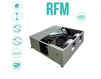 RFM - установки рекуперации тепла со встроенным холодильным контуром от 900 до 4000 м3/час