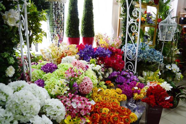 Искусственные цветы, букеты, головки