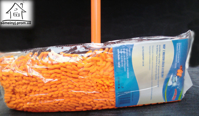 швабра моп натирач Eko Feniks orange