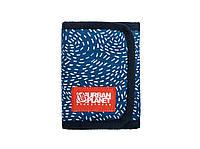Модный кошелек из ткани на липучке Urban Planet Hyper DTS (мужские кошельки, кошельки женские)