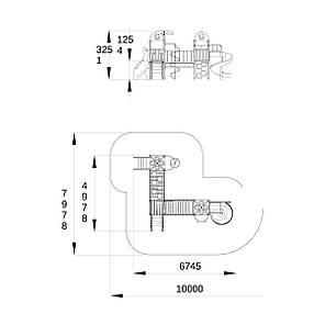 """Игровой комплекс """"Джунгли-2"""" T809.1 RC, фото 2"""