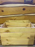 Ящик деревянный универсальный 50х40х30 с перегородкой