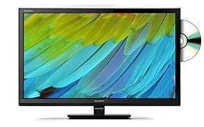 Телевизор Sharp LC-24DHF4011E (AM 100 Гц, HD Ready, DVB-T/T2, DVB-C, Встроенный медиаплеер)