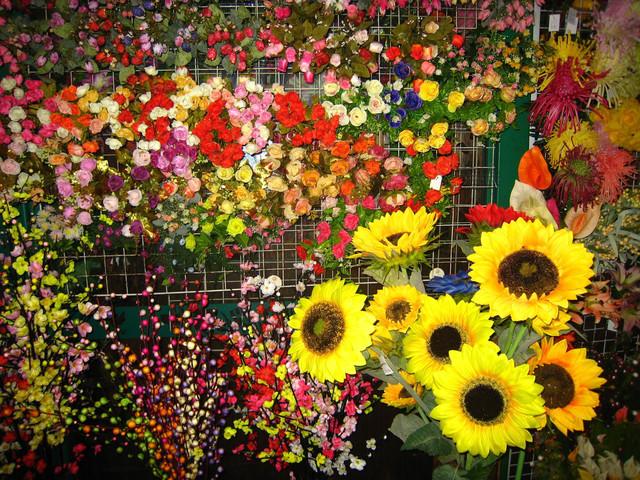 Букеты, цветы, зелень оптом (упаковками)