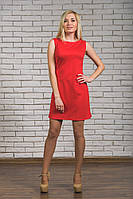Женское платье красное, фото 1