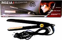Утюжок для выпрямления волос, Плойка для выпрямления, Rozia HR-702A, Утюжок выпрямитель, Плойка для волос