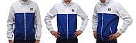 Бело-синяя ветровка куртка Ястребь (опт и розница)
