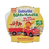 """Bebivita Bärenhunger """"Bei der Feuerwehr"""" Schlauchnudeln Bolognese  - Паста с соусом Болоньезе, 250 г"""