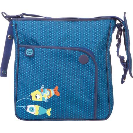 Сумка на коляску синяя TUC TUC  KIMONO BUGGY